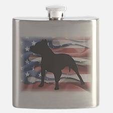 Pit Patriot Flask