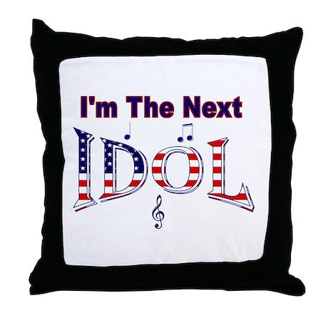 Next Idol Throw Pillow