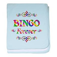 Bingo Forever baby blanket