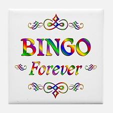 Bingo Forever Tile Coaster