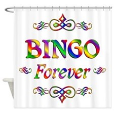 Bingo Forever Shower Curtain