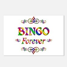 Bingo Forever Postcards (Package of 8)