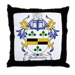 MacCreadie Coat of Arms Throw Pillow