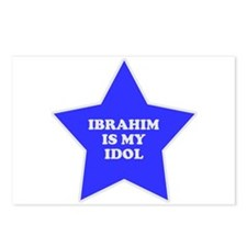 Ibrahim Is My Idol Postcards (Package of 8)