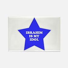 Ibrahim Is My Idol Rectangle Magnet