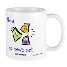 No News Yet (English) Mug