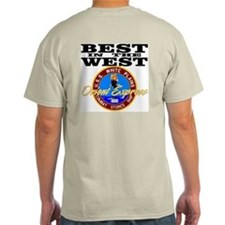 Best In The West! Ash Grey T-Shirt