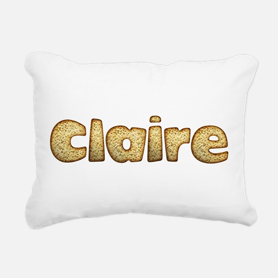 Claire Toasted Rectangular Canvas Pillow