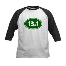 13.1 Oval - Forest Green Tee