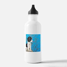 """""""Springer Spaniel"""" Water Bottle"""