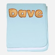 Dave Toasted baby blanket