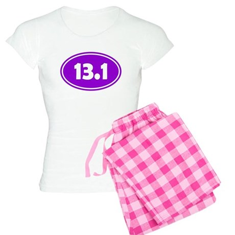 13.1 Oval - Purple Women's Light Pajamas