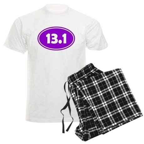 13.1 Oval - Purple Men's Light Pajamas