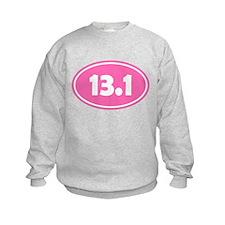 13.1 Oval - Pink Sweatshirt