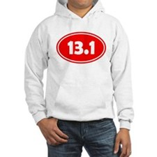 13.1 Oval - Red Hoodie