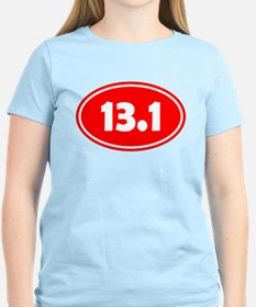 13.1 Oval - Red T-Shirt