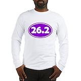 26.2 marathon Long Sleeve T Shirts