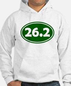 26.2 Oval - Forest Green Hoodie