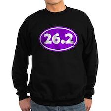 26.2 Oval - Purple Sweatshirt