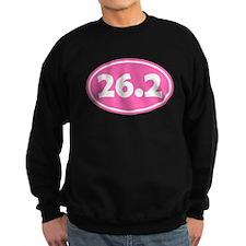 26.2 Oval - Pink Sweatshirt