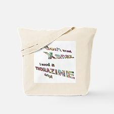 Funny Xanax Tote Bag
