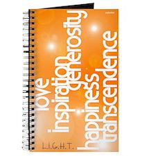 Light - Golden Orange Journal