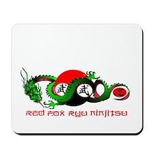 Red Fox Ryu Ninjitsu Mousepad