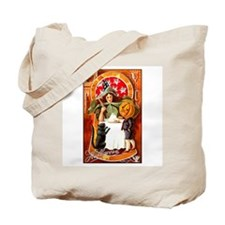 Victorian Witch Tote Bag