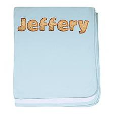 Jeffery Toasted baby blanket