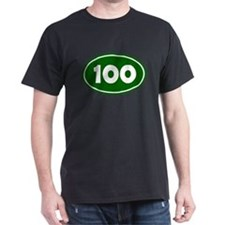 100k Oval - Forest Green T-Shirt