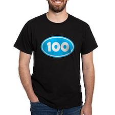 100k Oval - Sky Blue T-Shirt