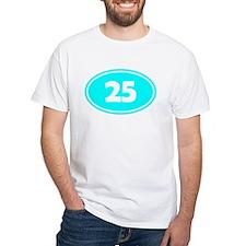 25k Oval - Cyan Shirt