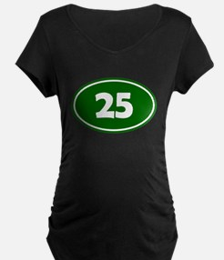 25k Oval - Forest Green T-Shirt