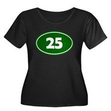 25k Oval - Forest Green T