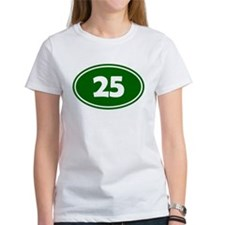 25k Oval - Forest Green Tee