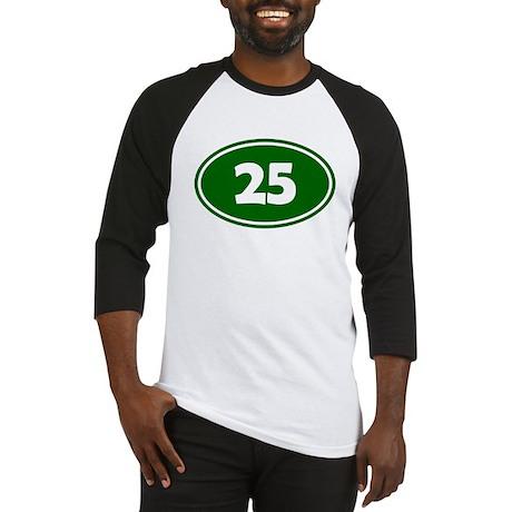 25k Oval - Forest Green Baseball Jersey