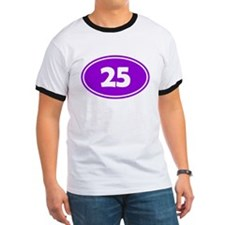 25k Oval - Purple T
