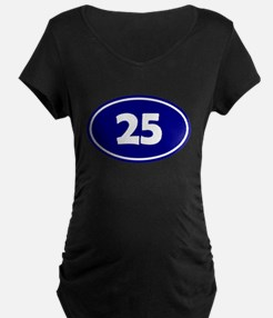 25k Oval - Navy Blue T-Shirt