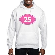 25k Oval - Pink Hoodie