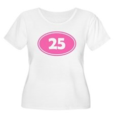 25k Oval - Pink T-Shirt