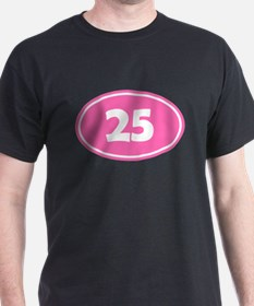 25k Oval - Pink T-Shirt