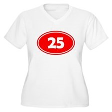 25k Oval - Red T-Shirt