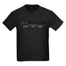 I'm a Mormon: I know it, I live it, I love it T