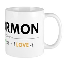 I'm a Mormon: I know it, I live it, I love it Small Mugs