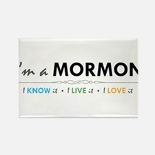 I'm a Mormon: I know it, I live it, I love it Rect