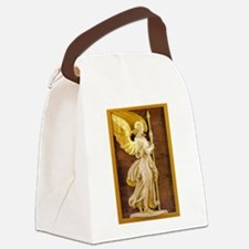 Golden Angel Canvas Lunch Bag