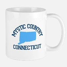 Mystic CT - Map Design. Mug