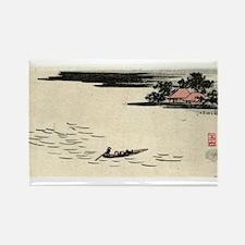 Fukeiga 13 - Hiroshige Ando - 1858 - woodcut Magne