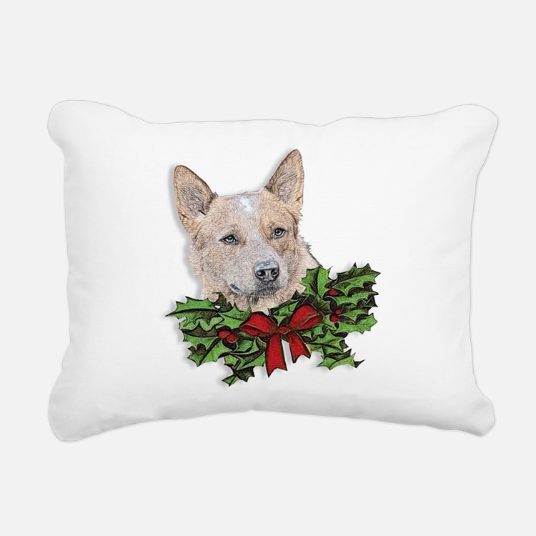 Red Dog Throw Pillows : Red Heeler Dog Pillows, Red Heeler Dog Throw Pillows & Decorative Couch Pillows