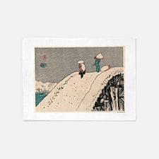 Fukeiga 12 - Hiroshige Ando - 1858 - woodcut 5'x7'